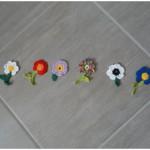 Blumenreihe